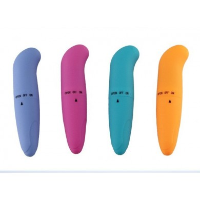 Mini vibrator Dolphin G Spot Orange