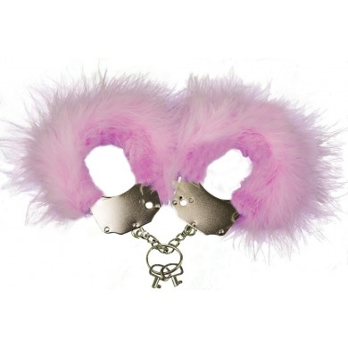 Handcuffs with Feathers Menottes Plumes