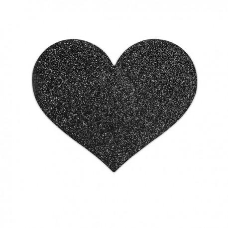 Pezoneras Flash Heart Black