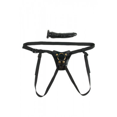 Fetish Fantasy Gold Designer Strap-On Black
