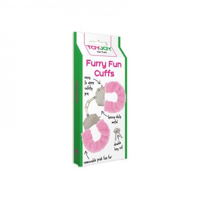 ESPOSAS DEL AMOR ROSA Furry Funs Cuffs
