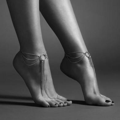 MAGNIFIQUE feet chain gold
