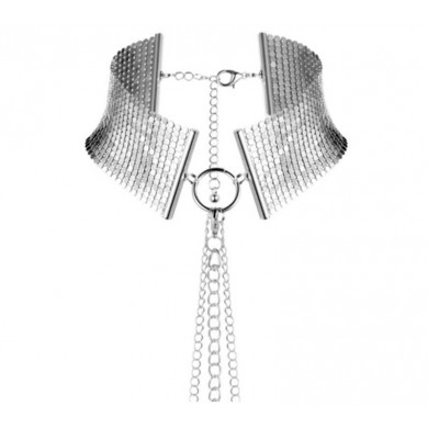 MAGNIFIQUE WHIP METALLIC CHAIN NECKLACE