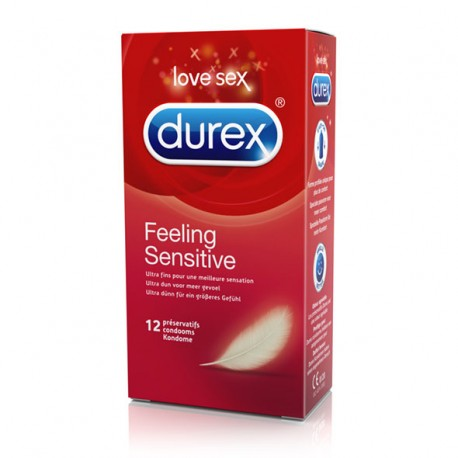DUREX FEELING SENSITIVE condoms 12 uds
