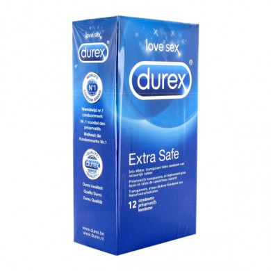 Durex EXTRA SAFE condoms 12 uds