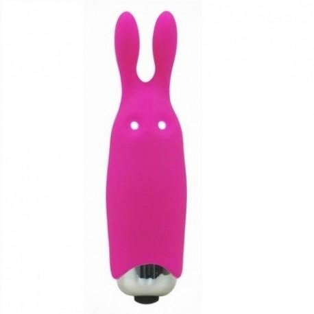 Lastic Pocket Vibe Pink Bullet Vibrator Black